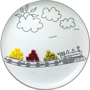 Food Artistry Plates - Boguslaw Sliwinski's Plates Encourage Food Play
