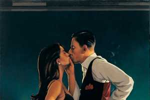 Jack Vettriano Paints Romantic Depictions with a Hard-Boiled, Noir Feel