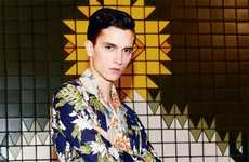 Thomas Lohr for Achtung Magazine Embraces Bold Prints