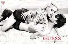 The Guess Spring/Summer 2012 Shots Star Amber Heard and Silviu Tolu