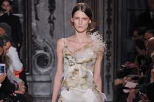 The Giles Fall 2012 Collection Showcased Singed Gowns