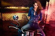 Biker Denim Editorials
