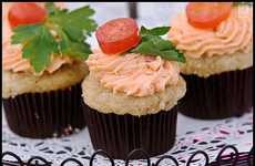 BLT Inspired Cakes - The Kiss the Pig Cupcake is a Fun Alternative to the Traditional Sandwich
