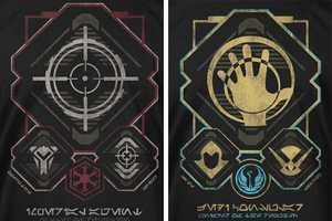 These Star Wars: The Old Republic T-Shirts Let You Show Your Loyalties