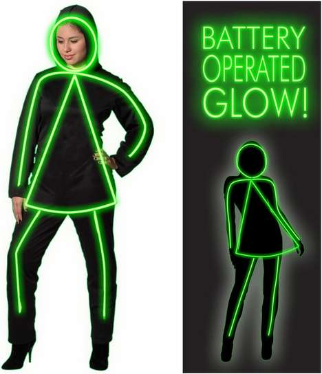 GlowGirl Costume