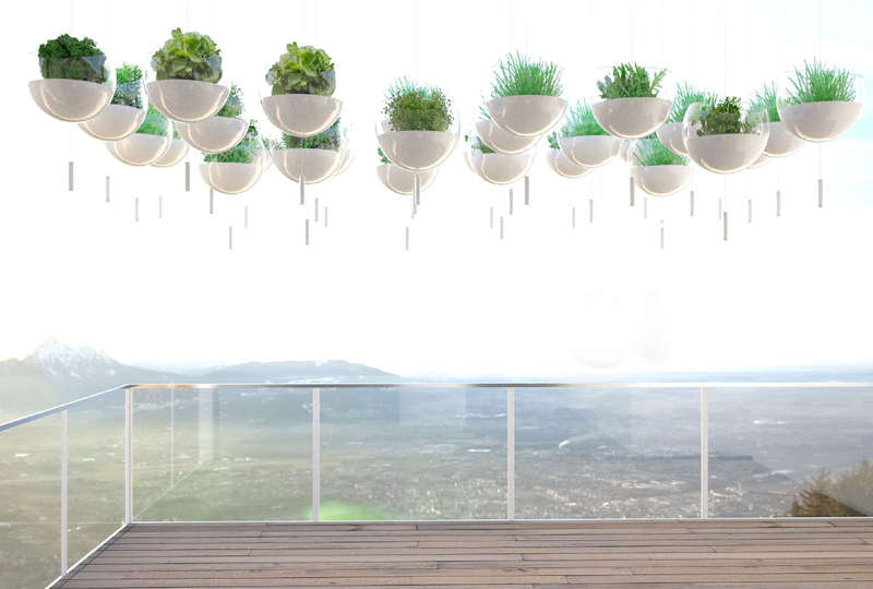 Spherical Floating Gardens