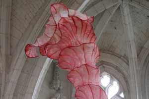 Peter Gentenaar's Delicate Creations Float Inside a Church