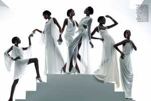 The Rhythm of Life Editorial from Vogue Italia February 2012 is Stunning