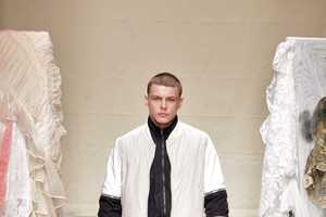 The Christopher Shannon Fall/Winter 2012 Line is a Material Mash-Up