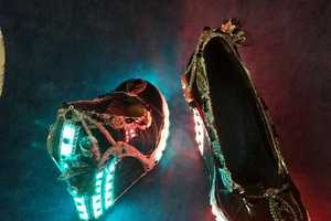 The Light up Steampunk Heels Will Transport Your Feet to 2057