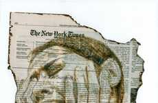 Charred Periodical Portraiture
