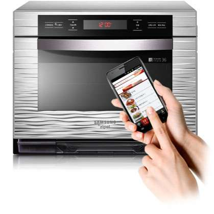 App-Controlled Appliances - The Samsung Android Oven Connects to Your Smartphone for Easy Cooking