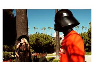 Sigrid Agren is Joined by Darth Vader and CP30 in Numero 131