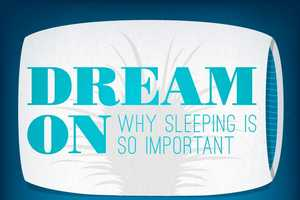 The Dream On Infographic Talks About Why Sleep is So Important
