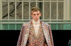 Paint-Splattered Suits - The Agi & Sam Fall/Winter 2012 Collection is All About Prints