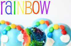 Tempting Technicolor Tidbits - These Rainbow Cake Pops are Filled with the Luck of the Irish