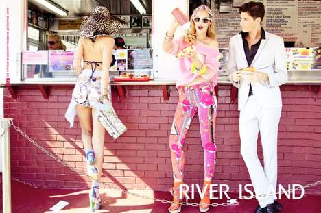 River Island Spring/Summer 2012 Campaign