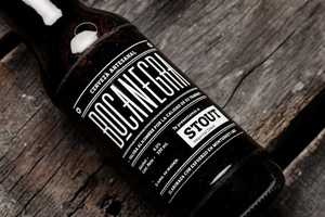 The Boca Negra Bottles are Masculine and Artistic