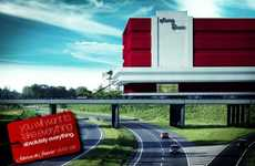 Intense Shopaholic Campaigns - The Fabricas de Francia Advertisements Show a Whole Store on Wheels