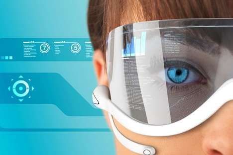 Search Engine Shades  - Google Glasses Put the Web in Front of Your Eyeballs