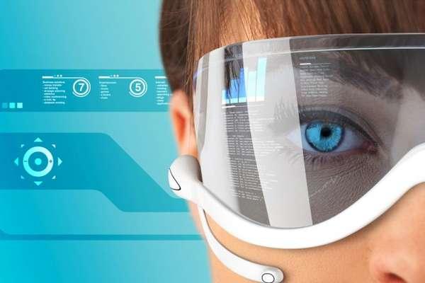 Futuristic Glasses