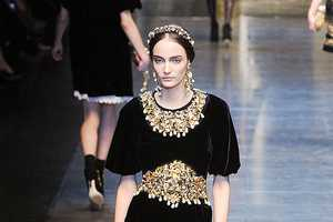 The Pieces from the Dolce & Gabbana Fall 2012 Line are Princess-Like