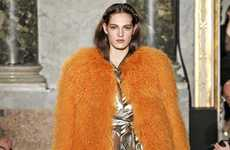 Chic Coated Catwalks - The Emilio Pucci Fall/Winter/2013 Collection is Glamorous