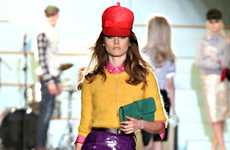 Modern Retro Runways - The DSquared Fall/Winter/2013 Collection is the Epitome of Glamour
