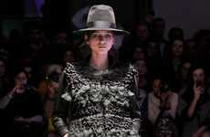 Exaggerated Volume Runways - The Ter et Bantine Fall/Winter/2013 Collection is Fashion-Forward
