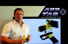 Beam-Shooting Apps - AppTag Laser Blaster Turns Smartphones into Toy Guns