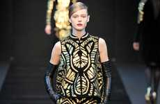 Eccentrically Ornate Runways - The Guy Laroche Fall 2012 Collection Turns Plenty of Heads