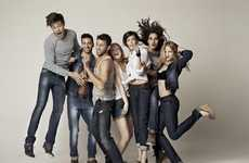 Group-Hug Campaigns - The Big Star Spring/Summer 2012 Line Offers Effortless Style