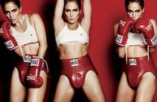 Bronx Beauty Boxing Shoots - Jennifer Lopez Gets Sporty for V Magazine 76