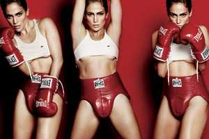 Jennifer Lopez Gets Sporty for V Magazine 76