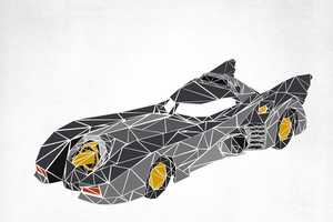 Josh Ln Depicts Infamous Transportation as Jagged Shape Mosaics