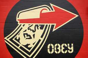 The Shepard Fairey Mural Advertises the Lifestyle of Obey Giant