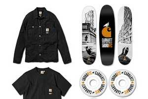 The 5boro X Carhartt SS 2012 Collection is Simple and Memorable