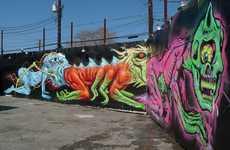 Fecal Monstrosity Murals