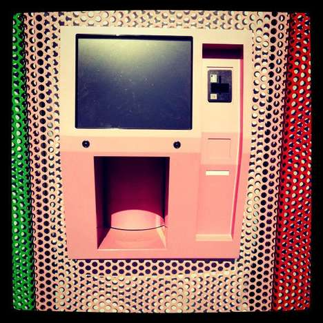 Colorful Cupcake ATMs - The 24-Hour Sprinkles Machines Lets You Satisfy Your Late-Night Urges