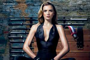 The V Magazine She Better Work (Out) Editorial Stars a Chic Lily Donaldson