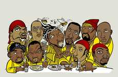 Vintage Rap Crew Graphics