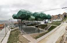 Honeycomb Court Canopies