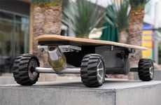Electric-Driven Decks - The ZBoard Senses Weight to Move and Stop