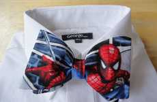 Suave Superhero Neckties - Look Sharp and Geeky with a Bow Tie by Charmaine Welch