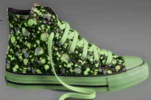 The Glow in the Dark Converse Shoes are Designed by You