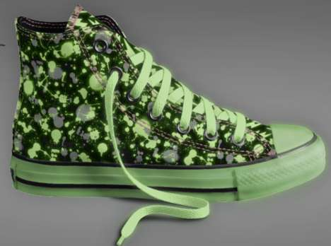 Glow in the Dark Converse