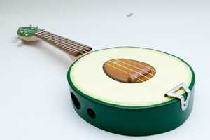 The Avocado Ukulele Will Put a Song in a Food Lover's Heart