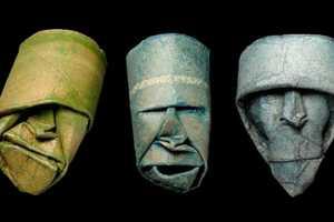 Junior Fritz Jacquet Sculpts Origami Faces Using Toilet Products