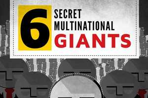 The 6 Secret Multinational Giants Infographic is Eye-Opening