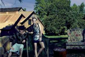 A Ranch-Set Marie Claire Italia March 2012 Shoot